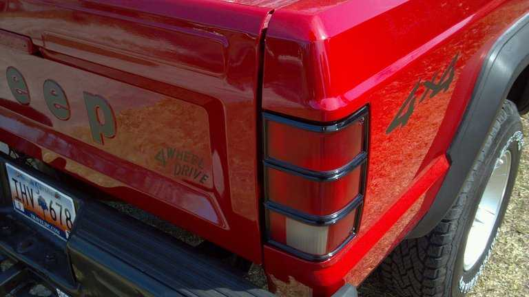 Renewing Tail Lights