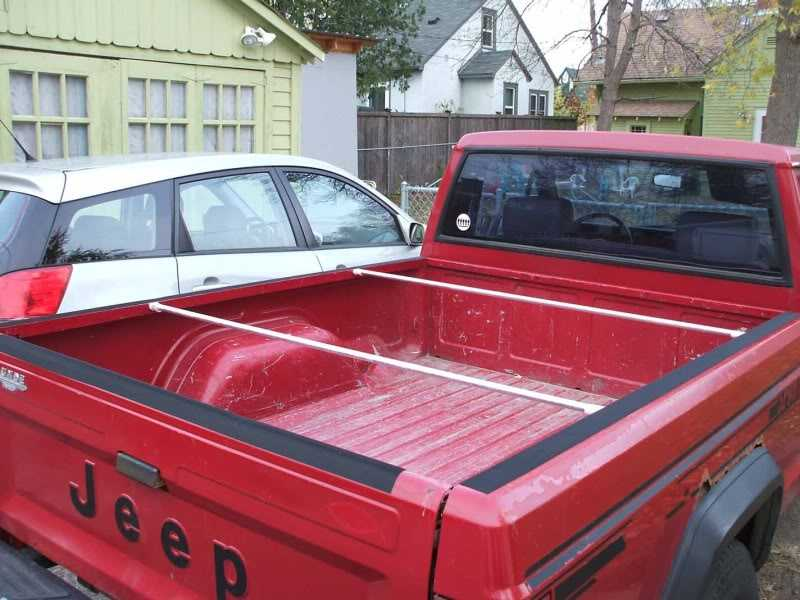 Diy Tonneau Cover Page 3 Mj Tech Modification And Repairs Comanche Club Forums