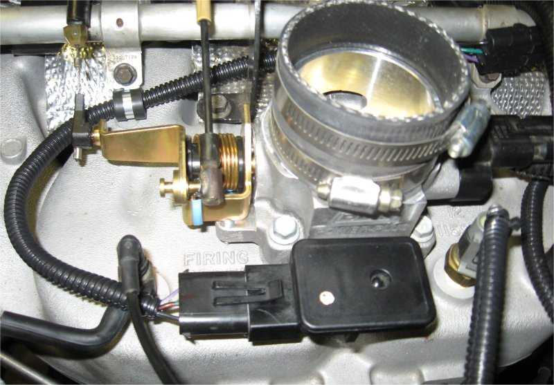 Renix TPS on HO throttle body - New way - MJ Tech: Modification and
