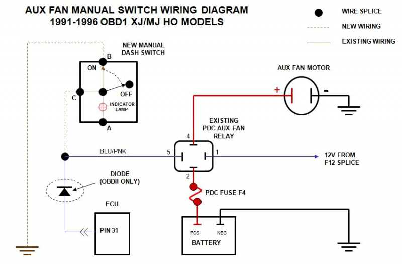 Prime Elec Fan Switch Mod Mj Tech Modification And Repairs Comanche Wiring 101 Orsalhahutechinfo