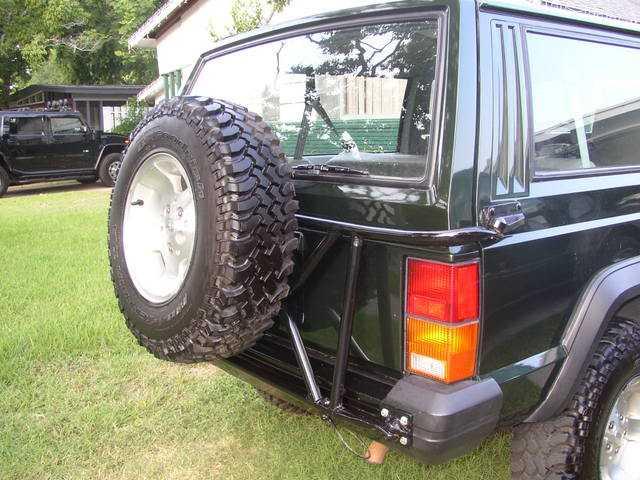 swing  spare tirefuel  mount mj tech modification  repairs comanche club forums