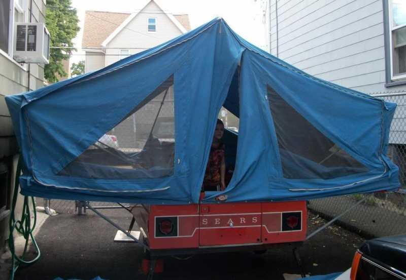 1968 Sears Tent Trailer 'Granpa-Campa' Build - The Pub