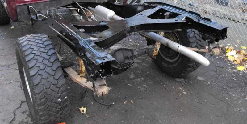 Jeep J20 axles - MJ Tech: Modification and Repairs