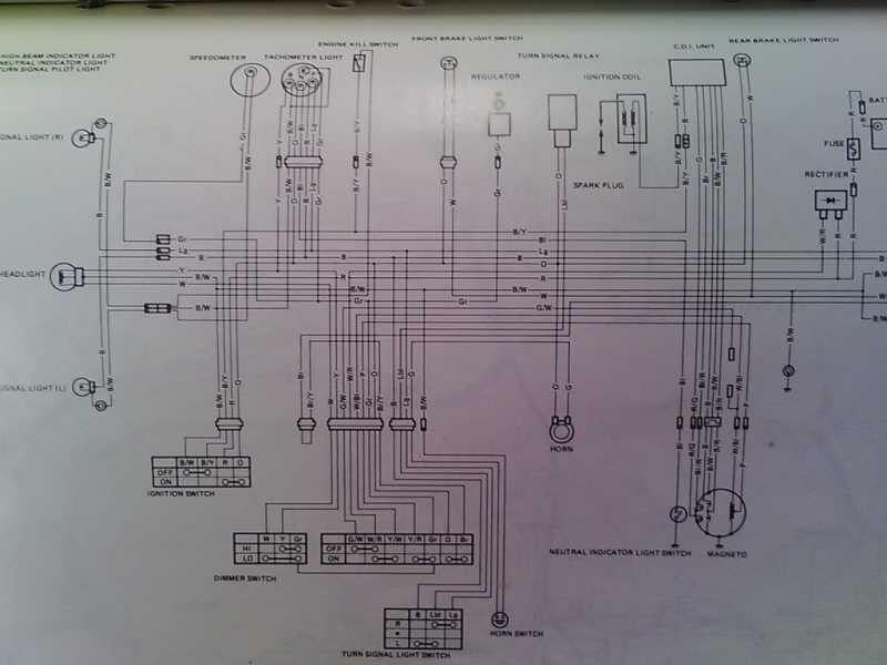 Need Wiring Help  1979 Suzuki Sp370  - The Pub