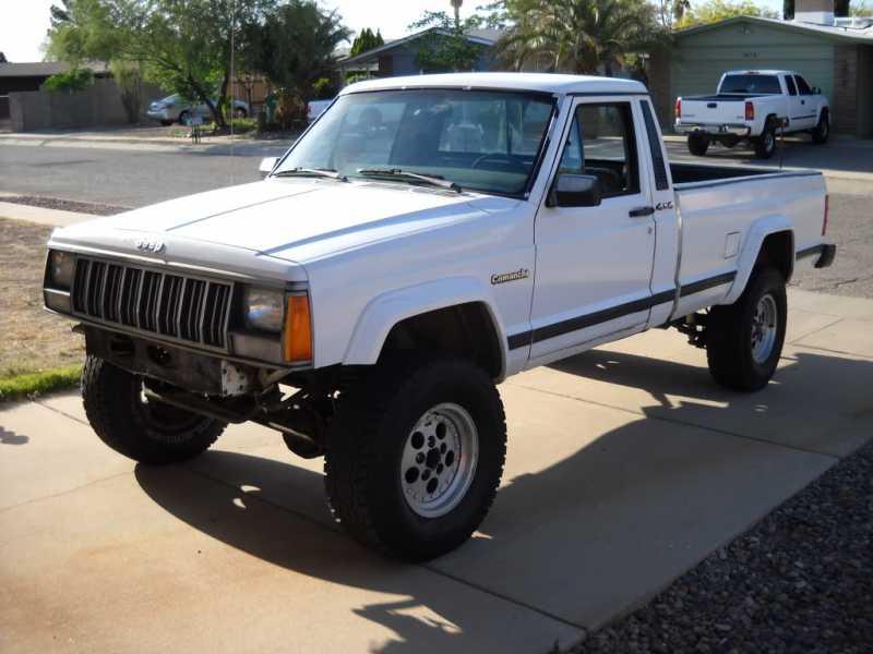 1988 jeep comanche 1800 tucson az for sale comanche club forums. Black Bedroom Furniture Sets. Home Design Ideas