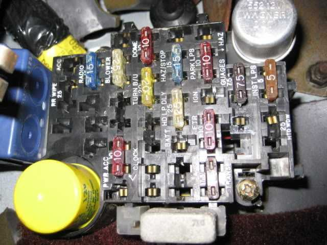 Fuel Pump Fuse And Relay