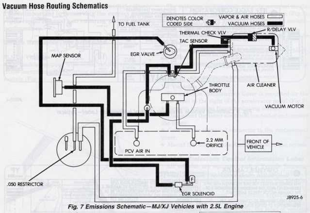 Where Can I Find A Vacuum Line Diagram  - Mj Tech