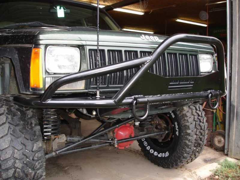 Jeep Xj Front Bumper Diy