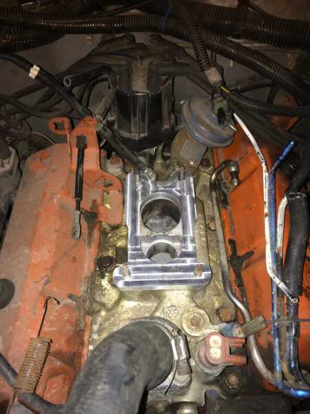 The Engine Room From Way Back: 86 Comanche 2.8l Engine Swap