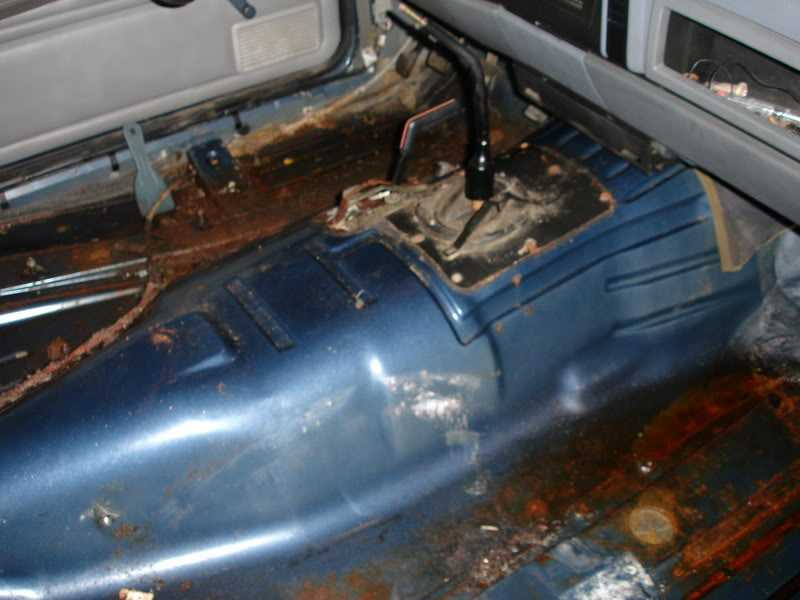 Por 15 Floor Pan Repair Mj Tech Modification And