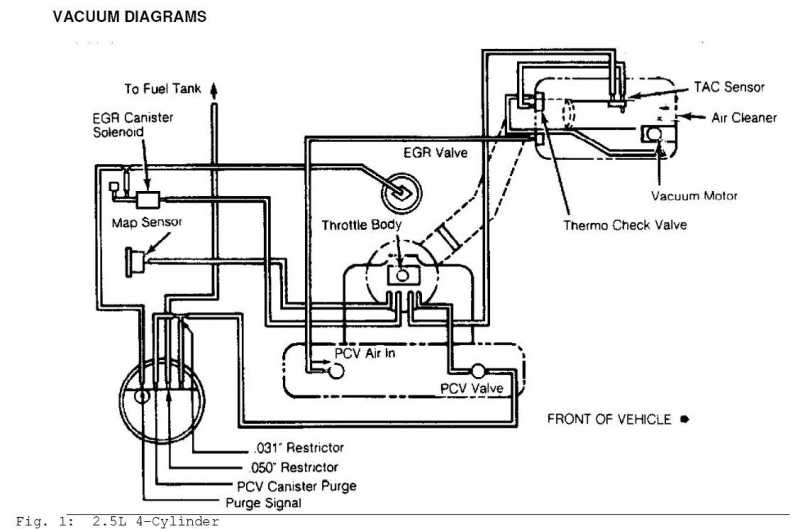 Vacuum Diagram - Mj Tech  Modification And Repairs