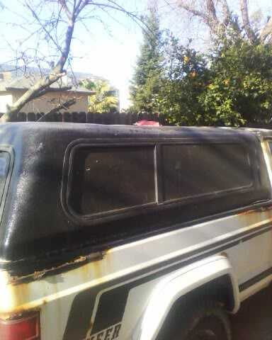 Jeep Comanche Camper Shell >> comanche camper shell nor cal - For Sale - Comanche Club Forums