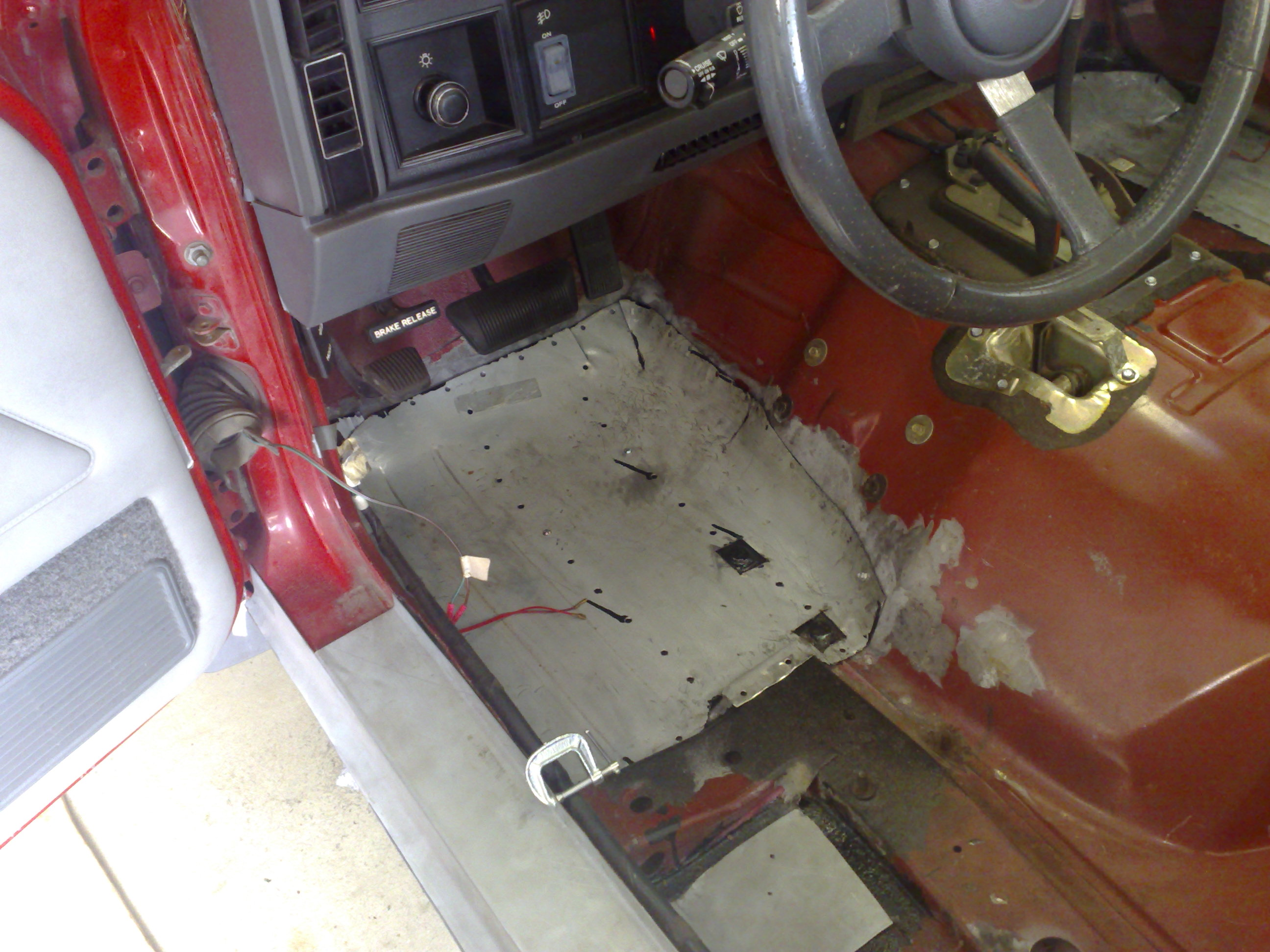 Mj Floor Pan Mj Tech Modification And Repairs Comanche Club Forums