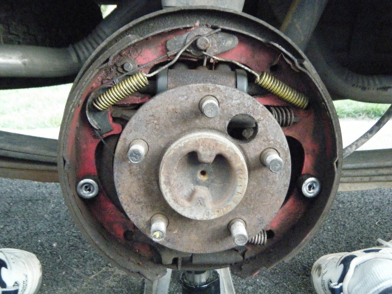 Dana 44 drum brakes - MJ Tech: Modification and Repairs - Comanche
