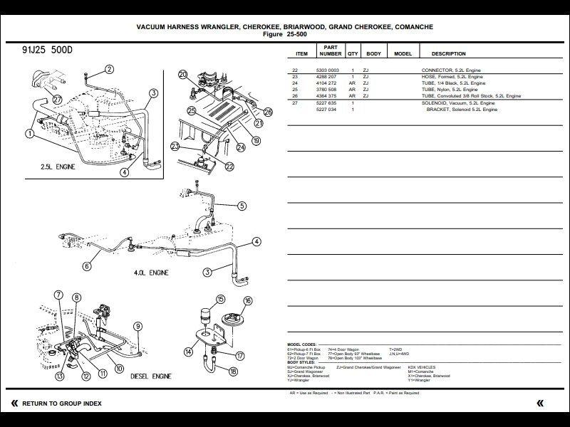 Two PCV valve kits - hose to air filter box - MJ Tech