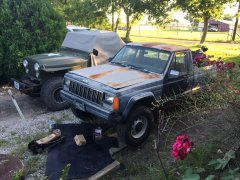 Beside my CJ7