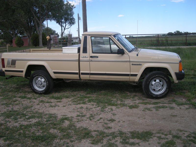 1998 Jeep Comanche Pioneer