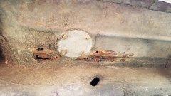 Floor rust repair