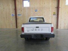 1990 White Jeep Comanche Rear  Boone, NC $15K.jpg