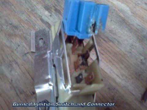 Ignition Switch burned.jpg