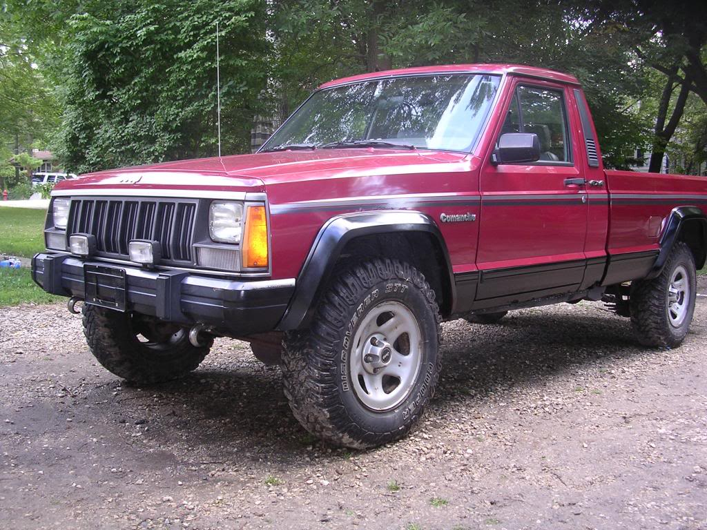 1989 jeep comanche pioneer shortbed 4x4 lifted with mods. Black Bedroom Furniture Sets. Home Design Ideas